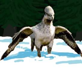 Christmas Buckbeak