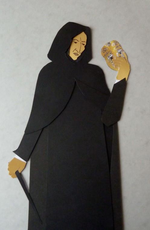Snape holding Mask